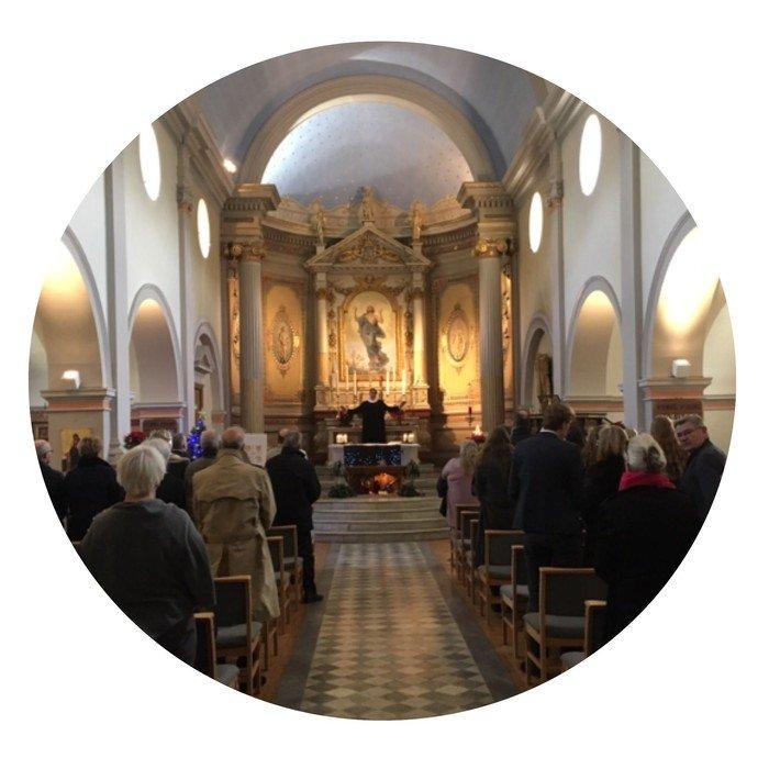 Dansk Kirke i Sydfrankrig er en aktiv kirke