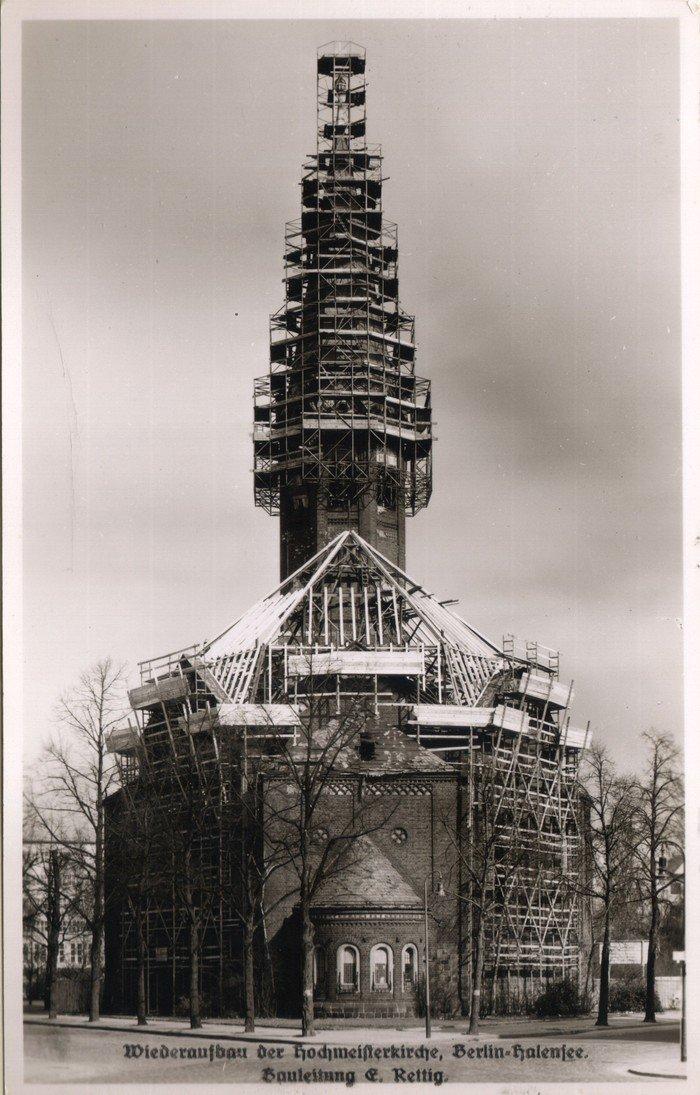 Die Kirche im Wiederaufbau