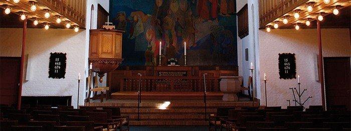 Lindevang Kirkesal ombygning