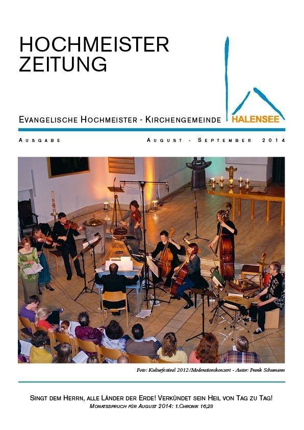 Hochmeisterzeitung 08 2014