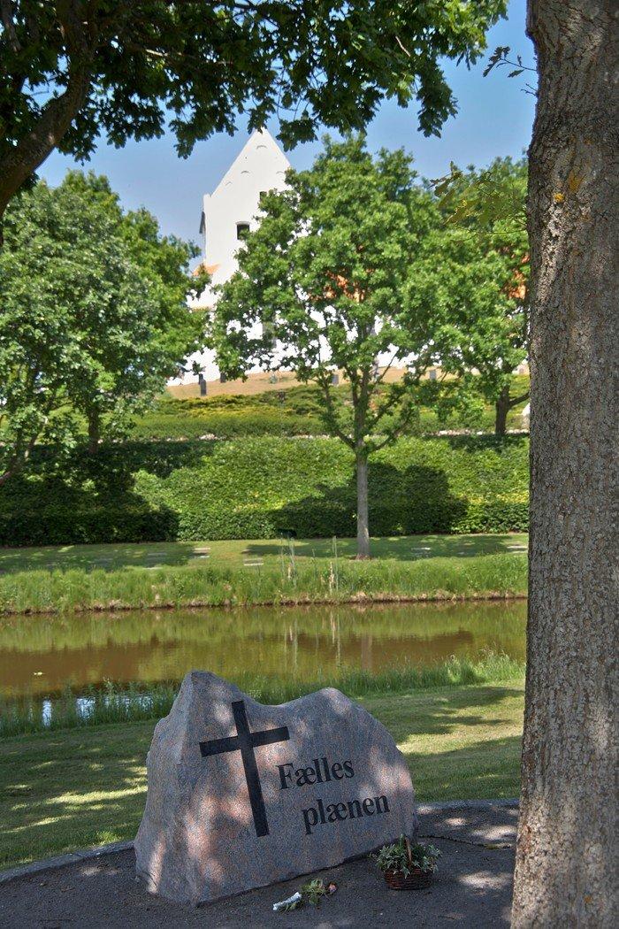 Paarup Kirkegård Fællesplænen
