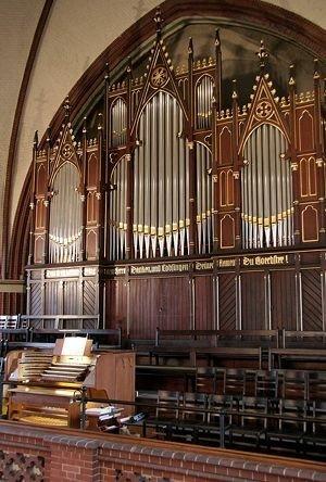 Der Prospekt der Auen-Orgel; Foto: Stefan Sparberg