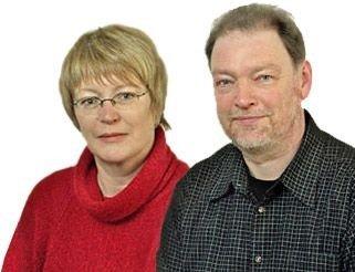 Potraitfoto des Ehepaars Quandt