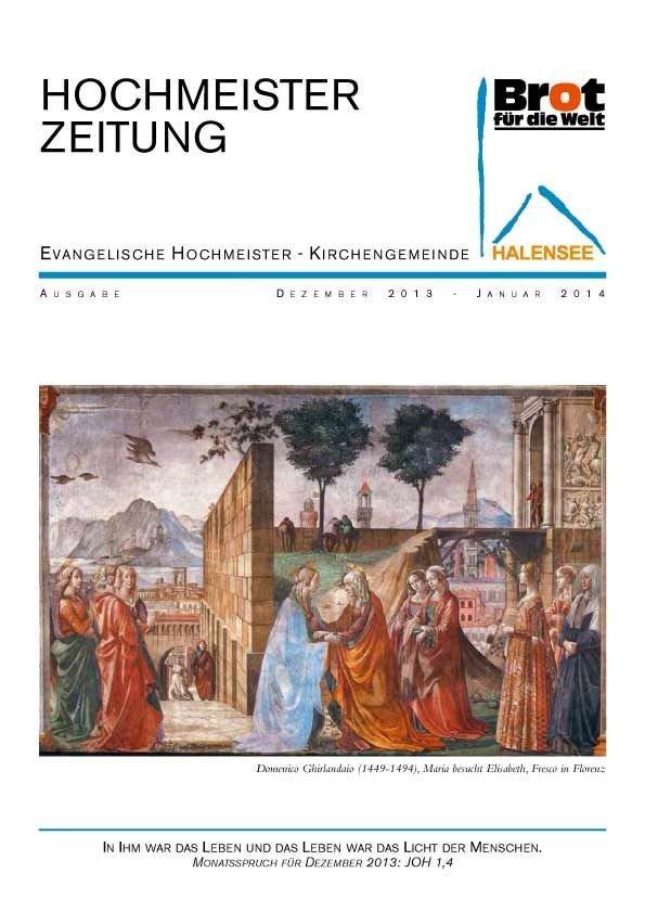 Hochmeisterzeitung 12 2013