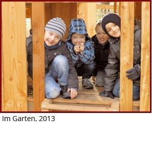 Kinder im Gruppenraum, 2011