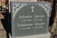 Johanne Jensen og Valdemar Jensen