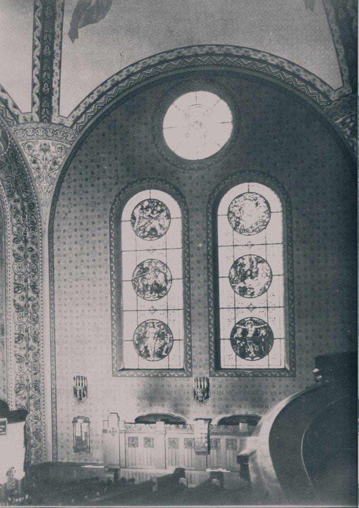 Die Kirchenfenster um 1910
