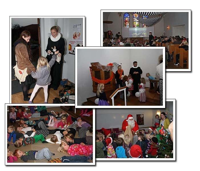 Billedet viser børne gudstjeneste