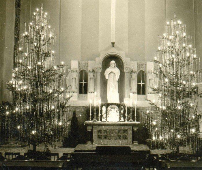 Weihnachten in der dreißiger Jahren