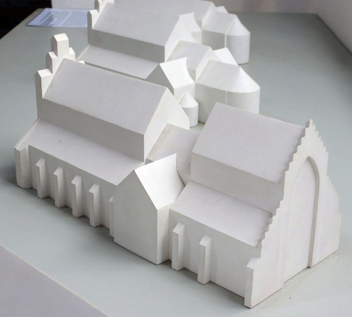 Model af Odense Domkirke