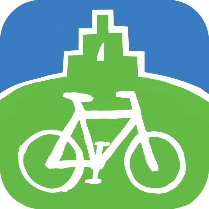 Logo for cykelvenlig vejkirke