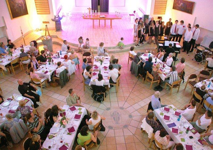 »Speiseklänge« der Gemeindejugend beim Festival »Rhapsody in Hochmeister«