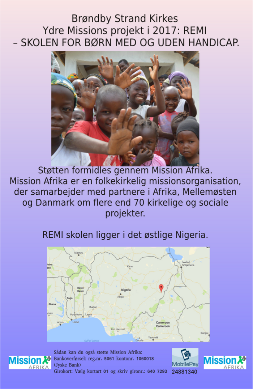 REMI projektet flyer
