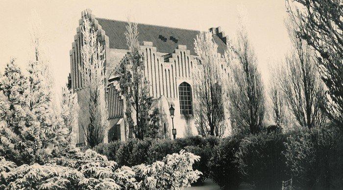 Gammelt billede af Christianskirken