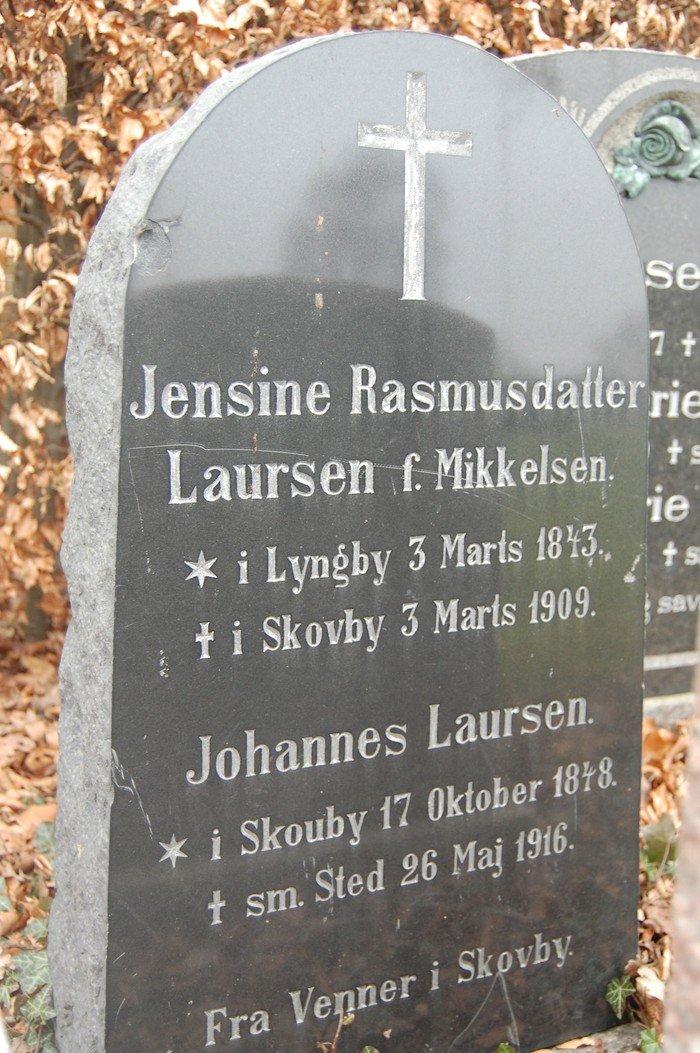 Jensine Rasmusdatter Laursen, f. Mikkelsen