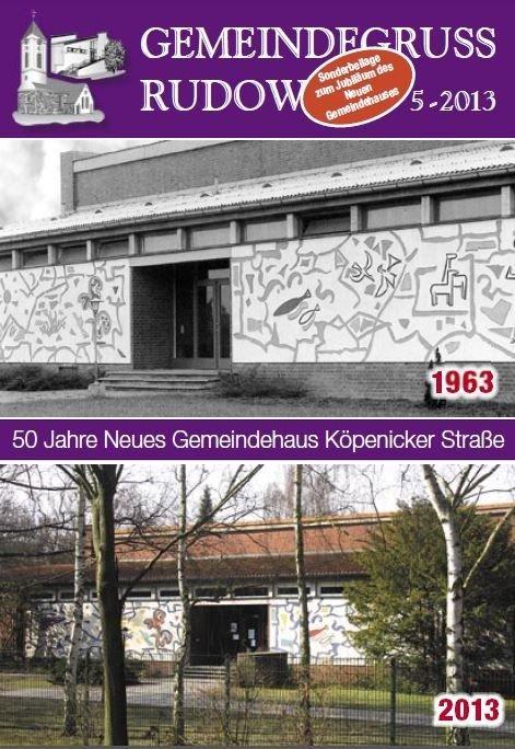 Sonderheft 50 Jahre Neues Gemeindehaus