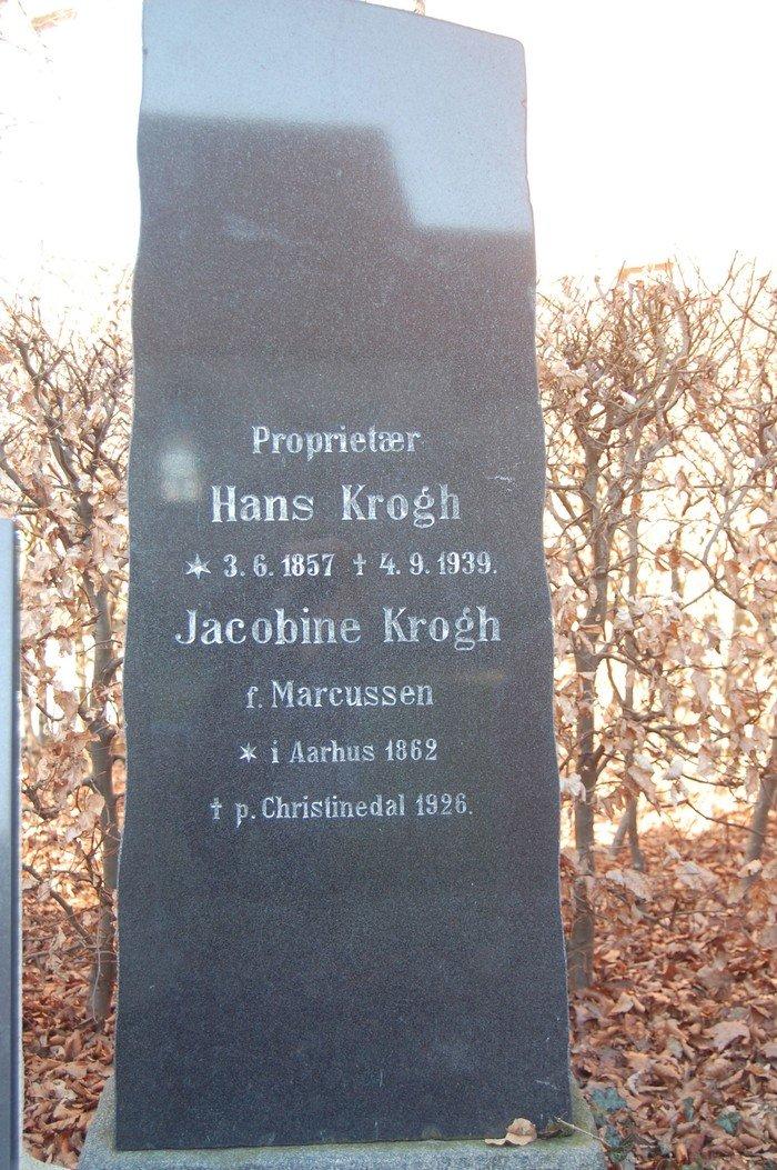 Hans Krogh og Jacobine Krogh