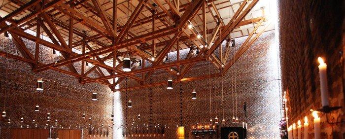 Loftkonstruktionen og lamperne