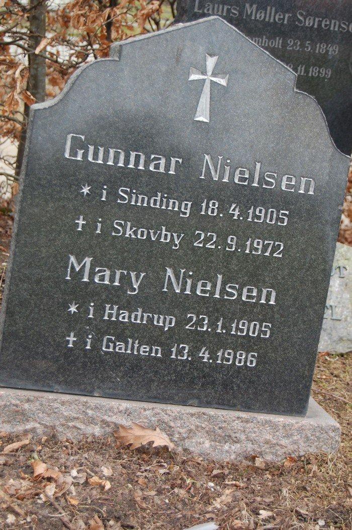 Gunnar Nielsen og Mary Nielsen