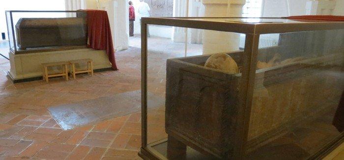 Knud den Helliges relikvier i Skt. Knuds Kirke