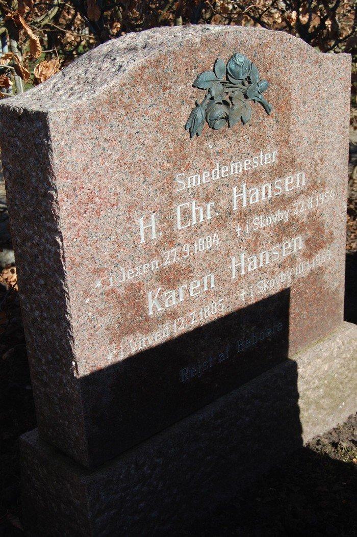 Hans Chr. Hansen og Karen Hansen