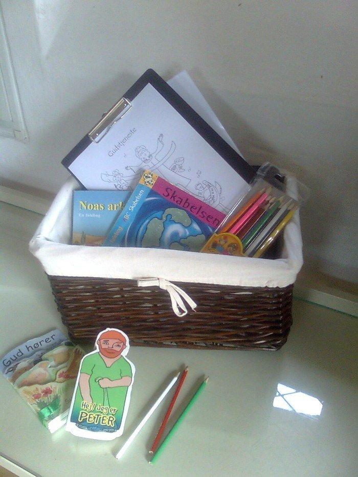 Børnelæsestof til læsning under gudstjenesten