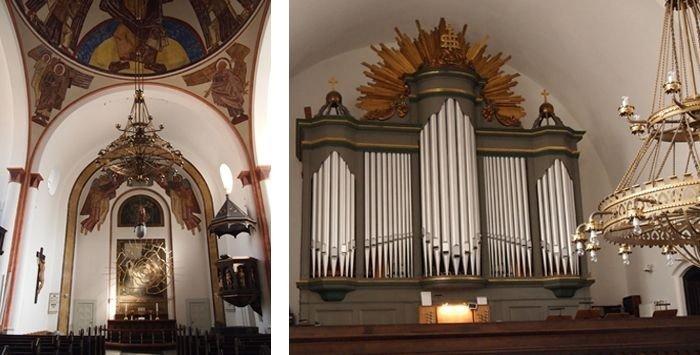 Kirkebygningen og kirkerummet