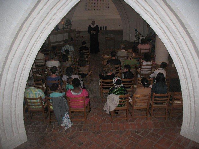 Gudstjeneste i Krypten i Domkirken
