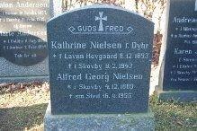 Alfred Georg Nielsen og Katrine Nielsen
