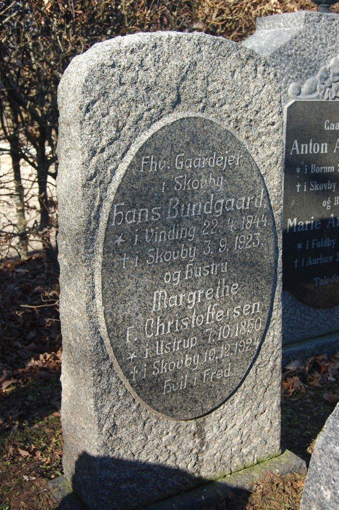 Hans Bundgaard og Margrethe Bundgaard