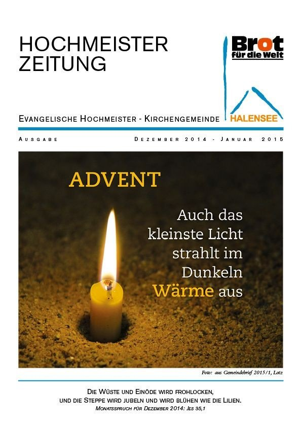 Hochmeisterzeitung 12 2014