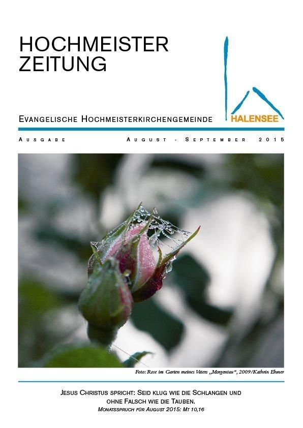 Hochmeisterzeitung 08 2015