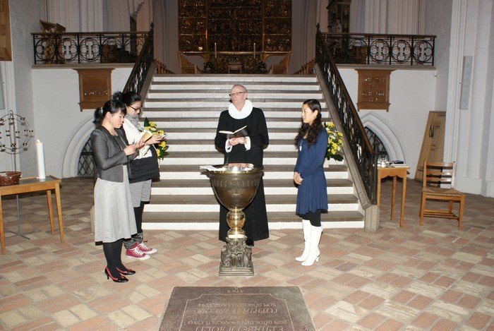 Dåb i Domkirken