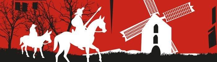 Don Quixote kommet på kirkens pinseplakat