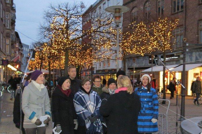Gadekirke i Odense gågade