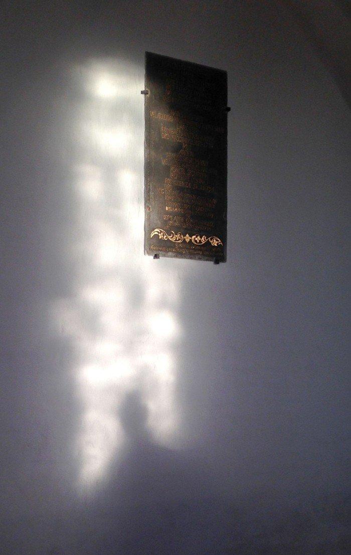 Tavle fra Paarup Kirke