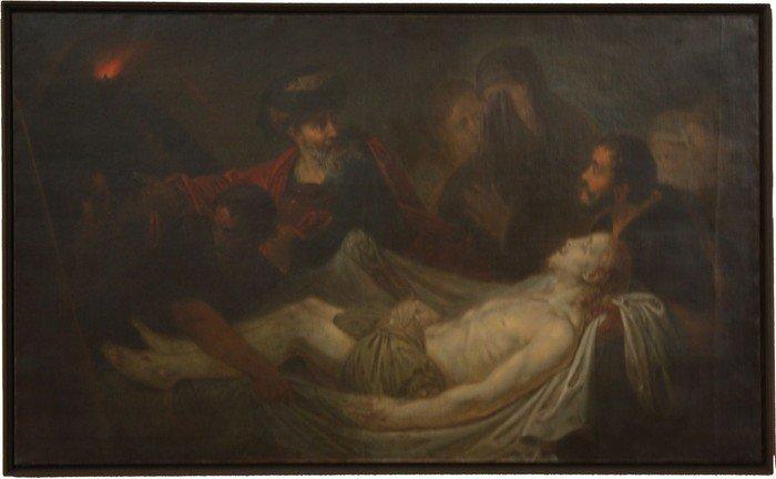 C.B. Rode: Die Grablegung
