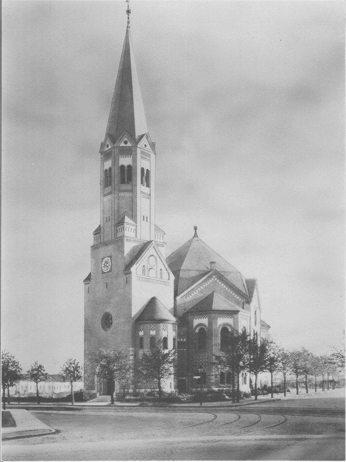 Die Hochmeisterkirche 1910
