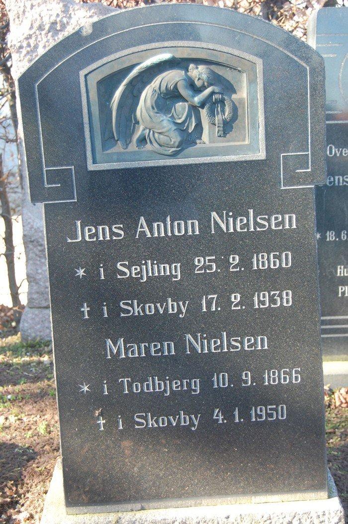 Jens Anton Nielsen og Maren Nielsen