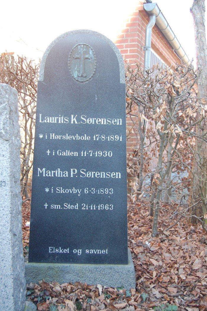 Laurits K. Sørensen og Martha P. Sørensen