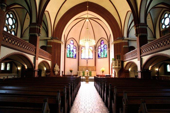 Inneres der Auenkirche. Foto: Constanze Flamme