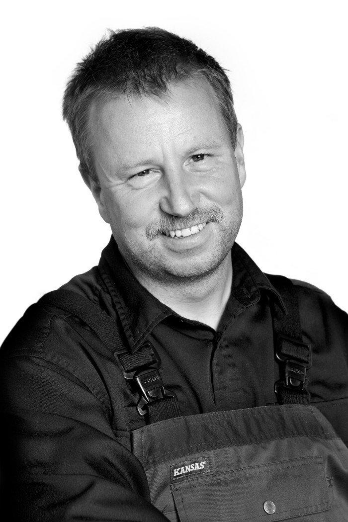 Kirkegårdsleder  Claus Nørtoft