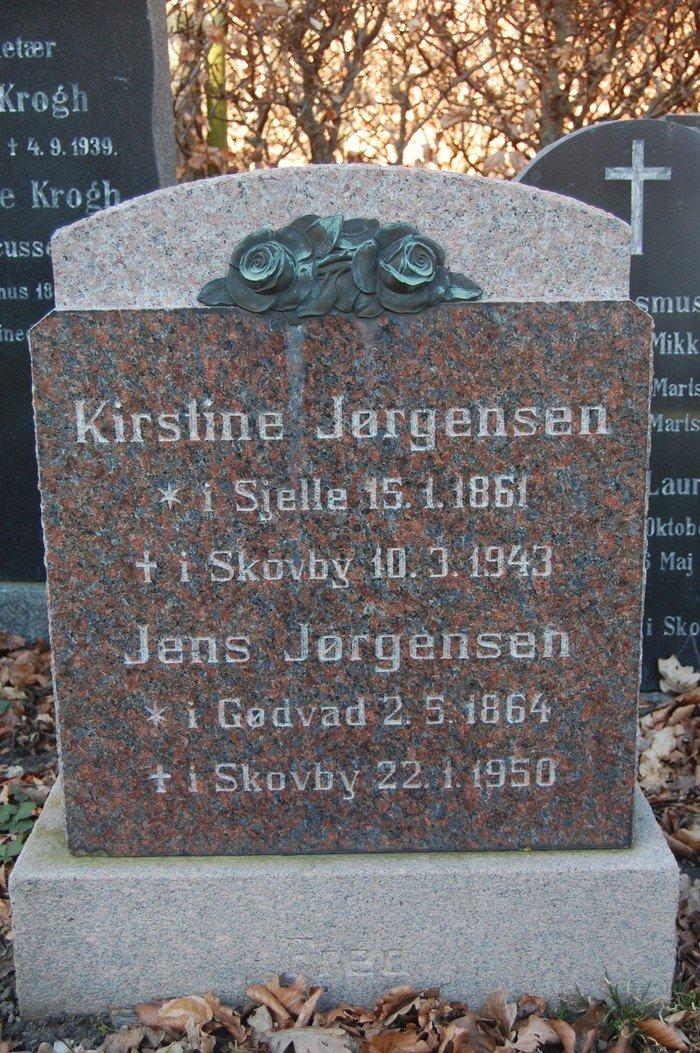 Kirstine Jørgensen og Jens Jørgensen
