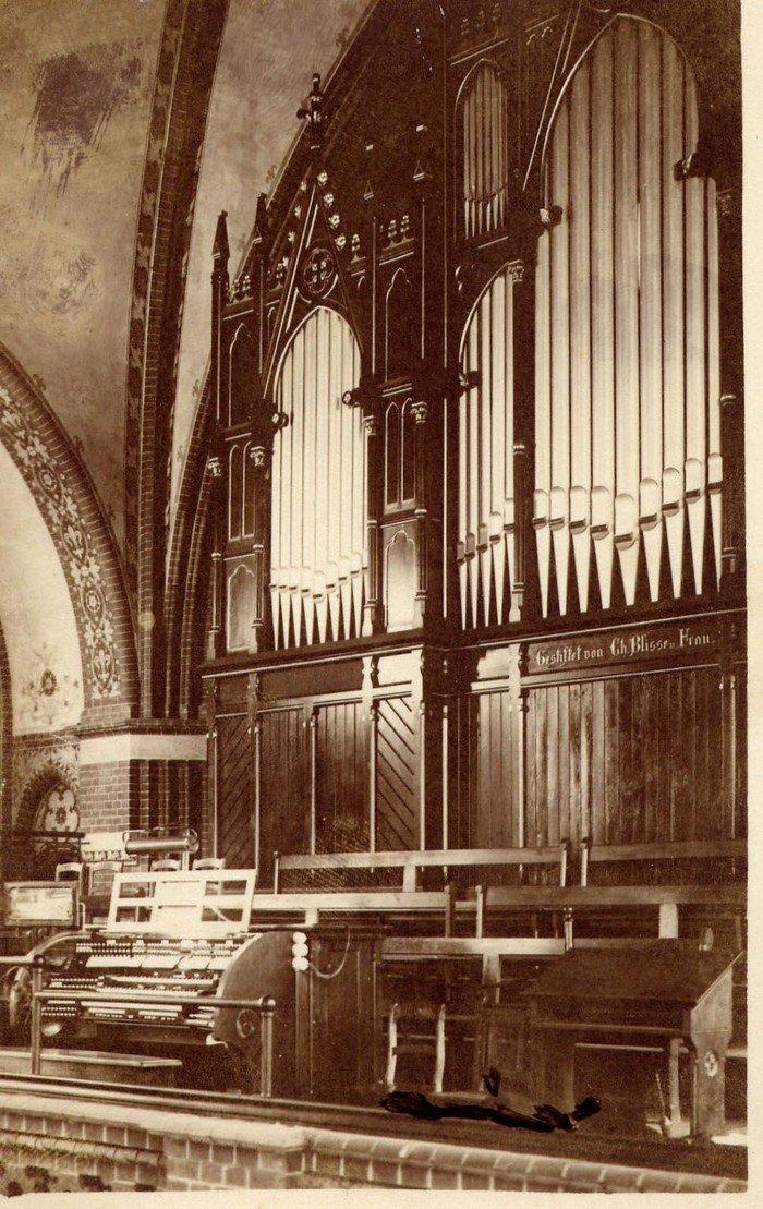 Orgelempore 1930