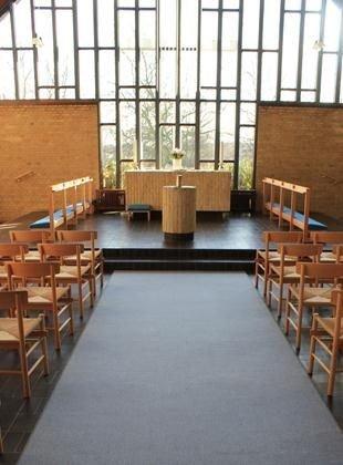 Husumvold Kirkes kirkerum