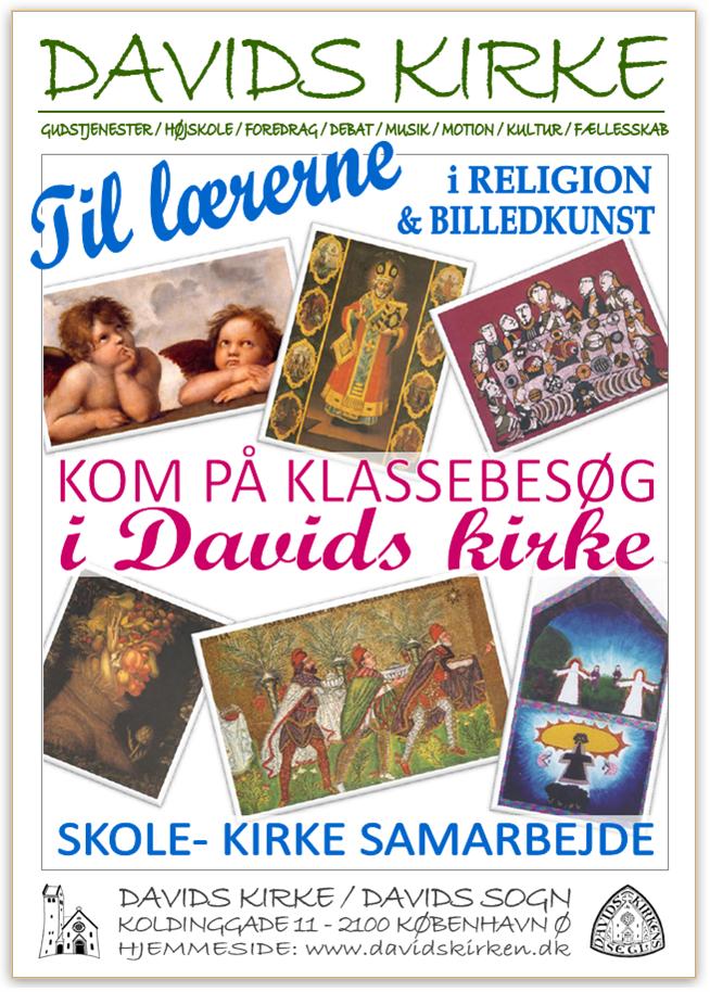 Læs mere om udstillingerne i Davids kirke