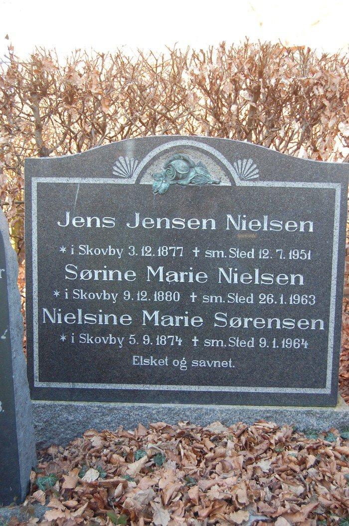 Jens Jensen Nielsen, Sørine Marie Nielsen og Nielsine Marie Sørensen
