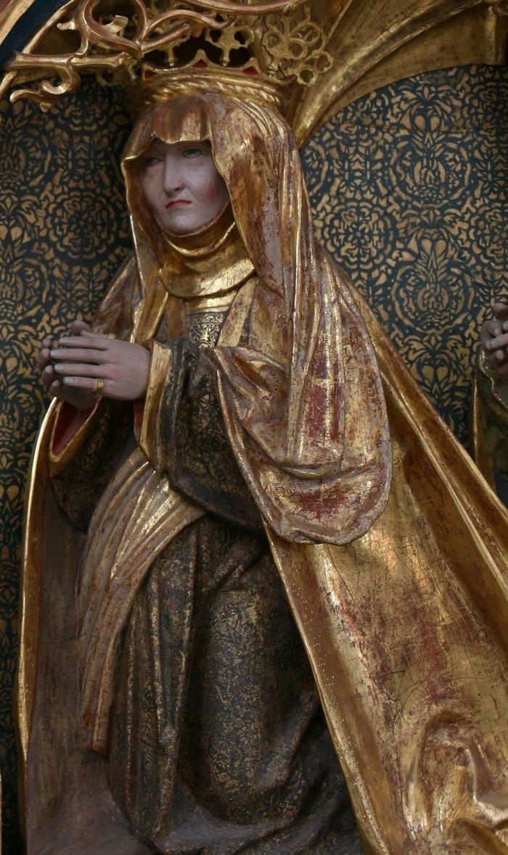 den fromme dronning Christine, kong Hans' hustru