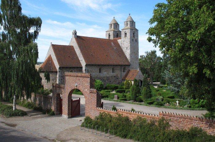 Kirken set fra nordsiden