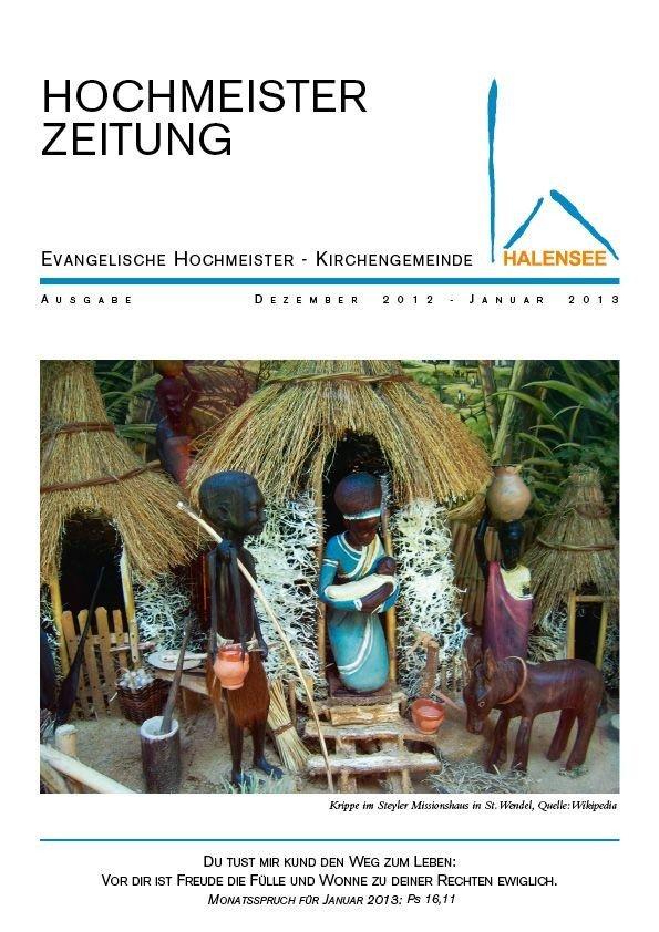 Hochmeisterzeitung 12 2012